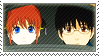 Gintama: Shinpachi x Kagura by Vulpixi-Stamps