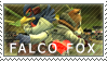 Star Fox: Falco x Fox by Vulpixi-Stamps
