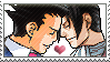 Ace Attorney: Edgeworth x Phoenix by Vulpixi-Stamps