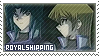 YGO GX: Royalshipping by Vulpixi-Stamps
