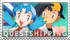 Pokemon: Questshipping by Vulpixi-Stamps