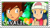 Pokemon: Cavaliershipping by Vulpixi-Stamps