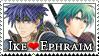 Fire Emblem: Ike x Ephraim by Vulpixi-Stamps