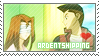 YGO: Ardentshipping by Vulpixi-Stamps