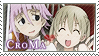 Soul Eater: Chrona x Maka by Vulpixi-Stamps