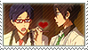Free: Rei x Haruka by Vulpixi-Stamps