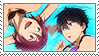 Free: Rin x Haruka by Vulpixi-Stamps
