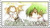 Shaman King: Marco x Lyserg by Vulpixi-Stamps