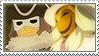 Layton: Descole x Masked Gentleman by Vulpixi-Stamps
