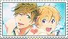Free: Makoto x Nagisa by Vulpixi-Stamps