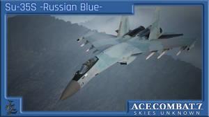 Su-35S -Russian Blue-