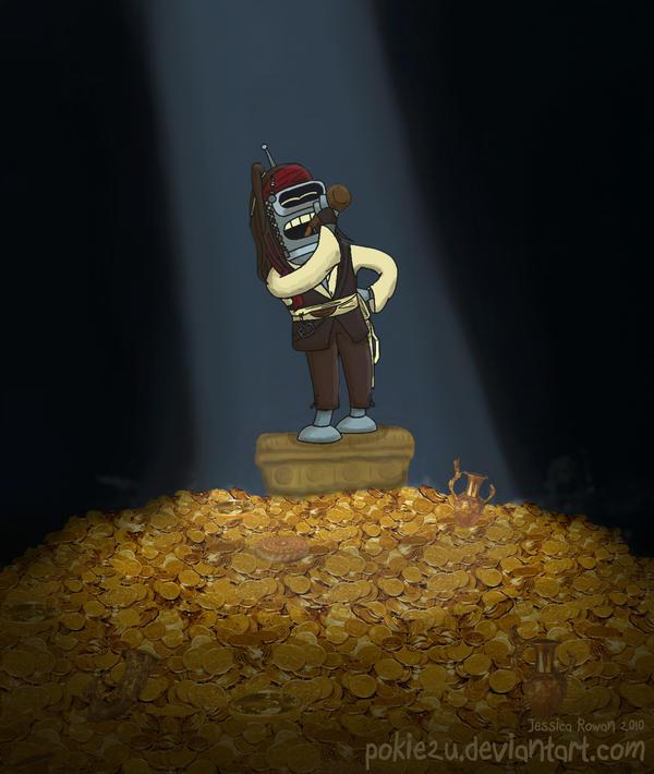 Bender of the Caribbean by pokie2u