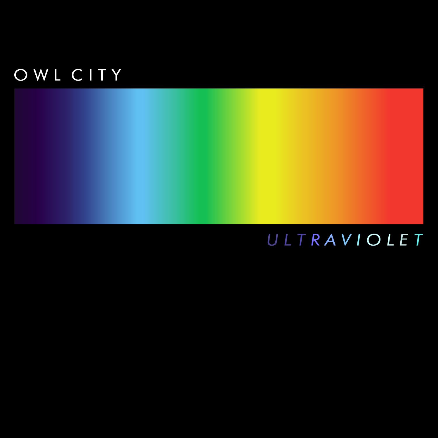 Owl City Ultraviolet Album Cover + DOWNLOAD by bgamix34 on
