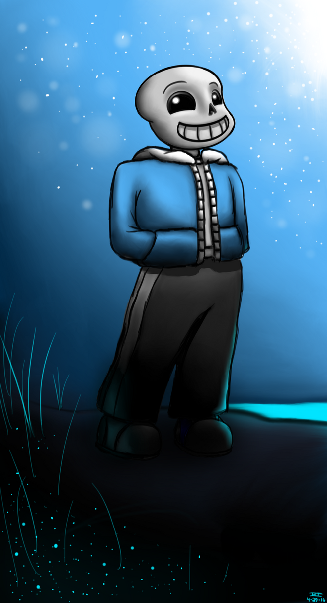 Sans by Astrobeecal
