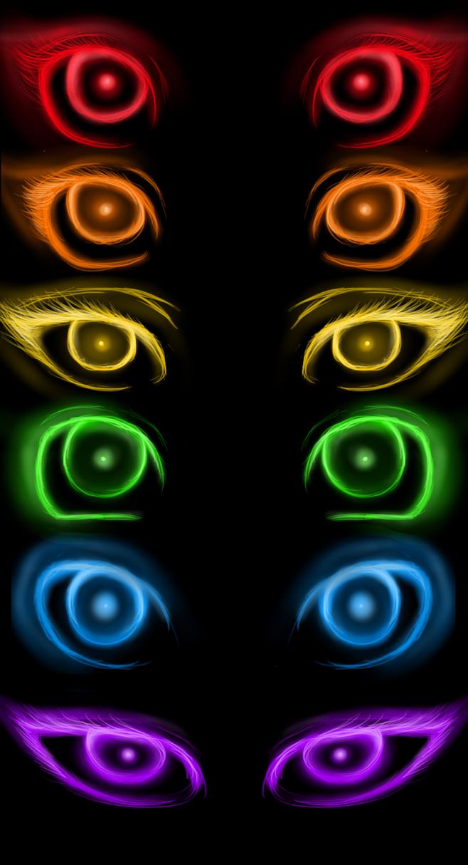 Glowey-glowey Eyes by Astrobeecal