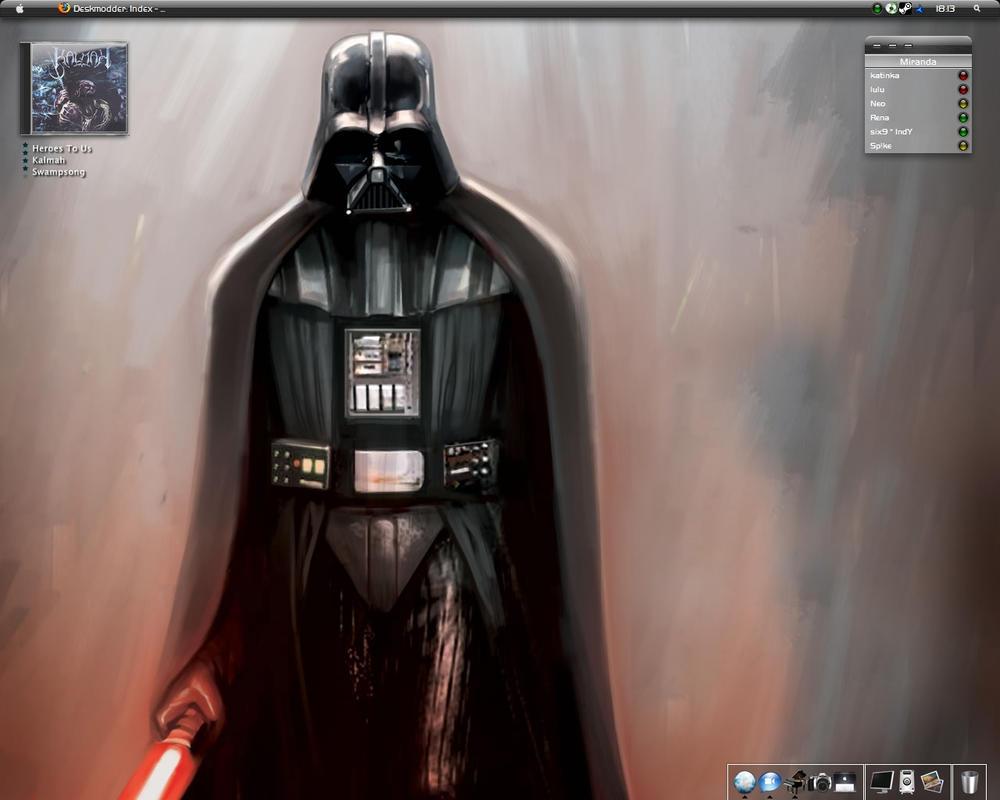 Darth Vader Desk by bluecifer1