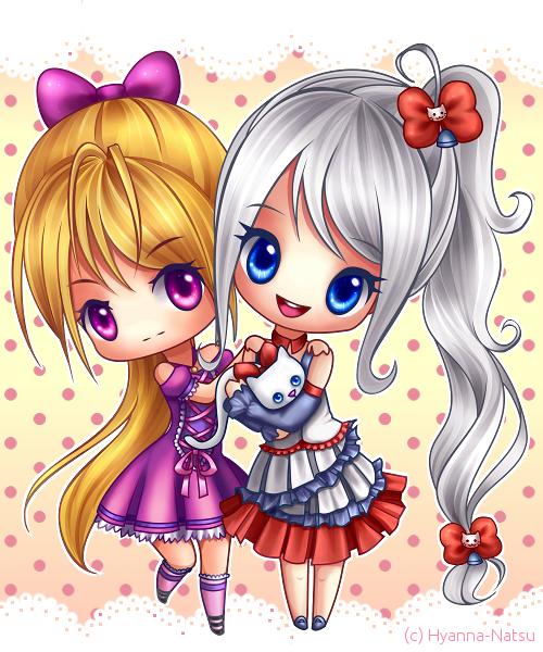C: Usana and Loliana by Hyanna-Natsu