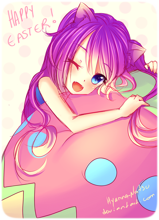 Happy Easter! by Hyanna-Natsu
