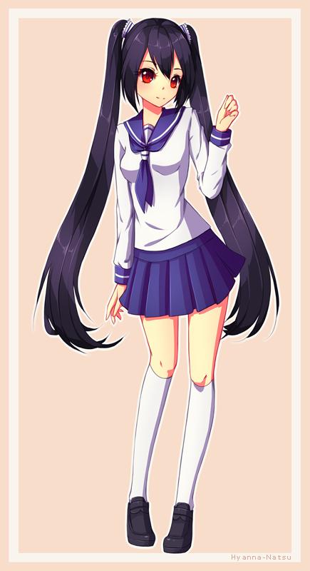 C: Rin Kougetsu by Hyanna-Natsu