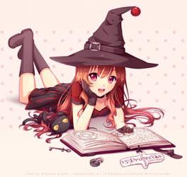 Commission - Smart witch by Hyanna-Natsu