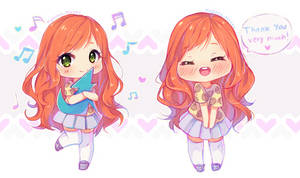 Commission - Sweet Alice chibis 2/6