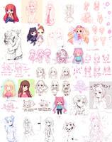 Sketch Dump 5 by Hyanna-Natsu
