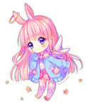 [+Video] Commission - Angel bunny