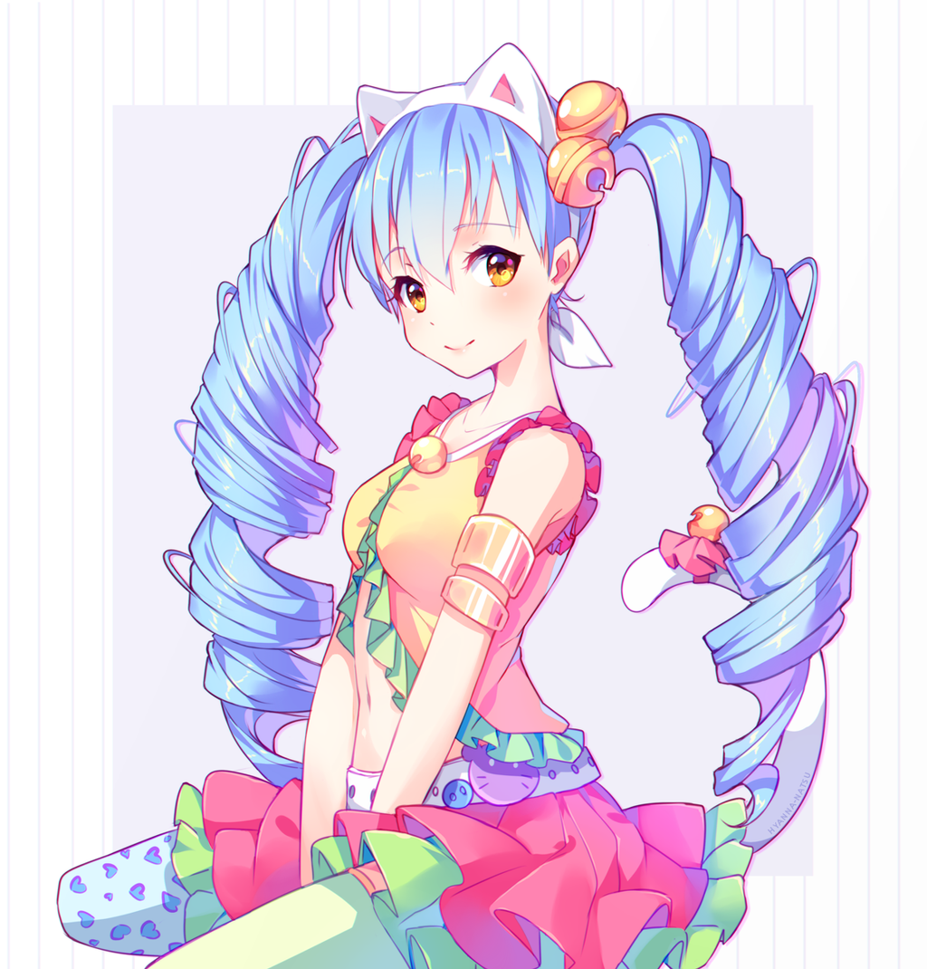 anime cute colorful girl - photo #47