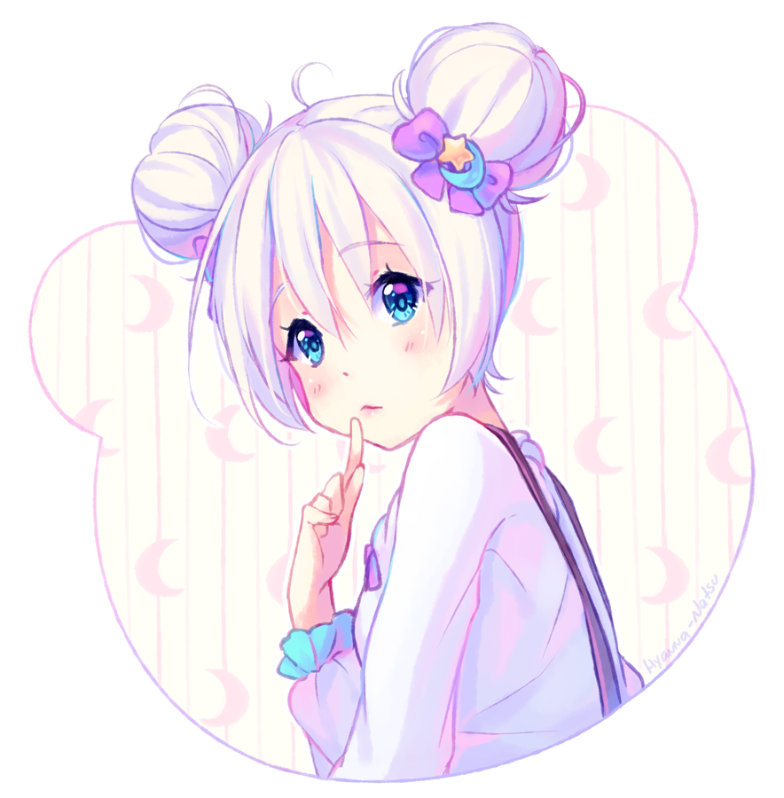 Cute Anime Girl Hairstyles Buns: Mimi By Hyanna-Natsu On DeviantArt
