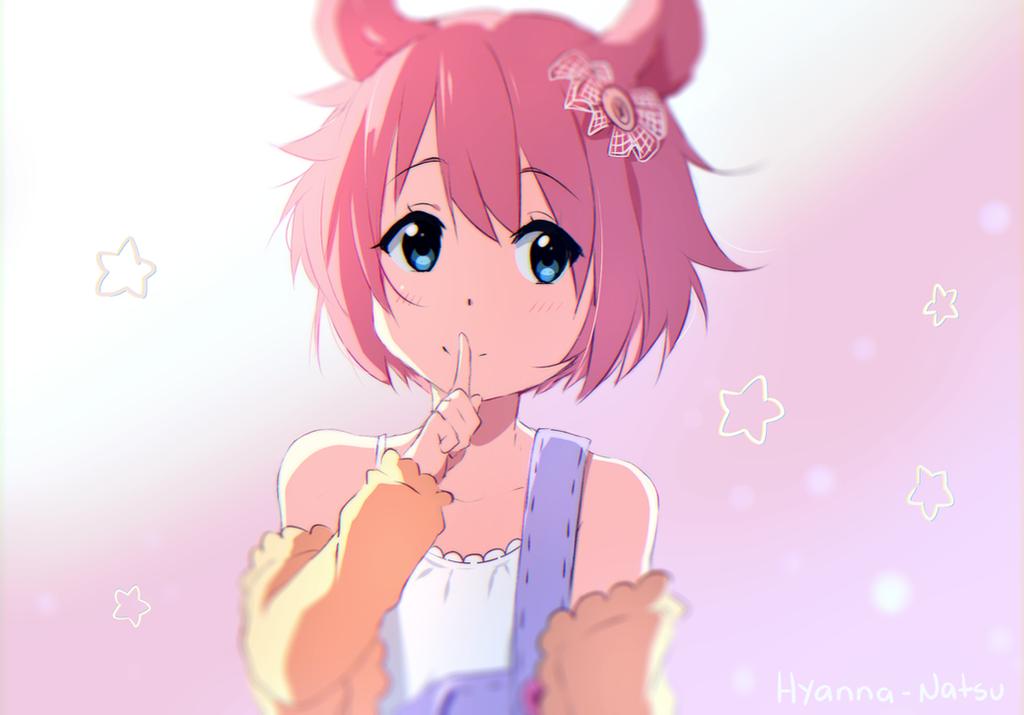 Cute Chibi Bunny Wallpaper