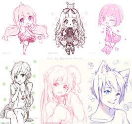Happy Gifts Month - 1/3 by Hyanna-Natsu