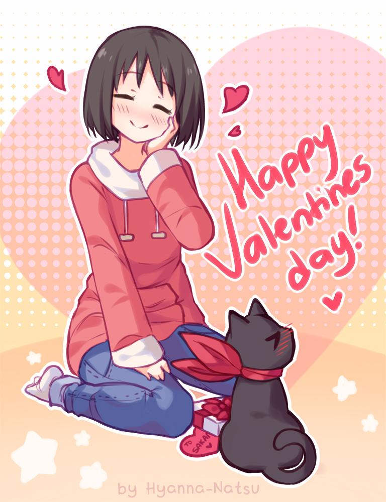 Video fanart happy valentines by hyanna natsu on - Happy valentines day anime ...