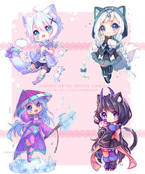 [+Video] Commission - Sketch Chibis! [February] by Hyanna-Natsu