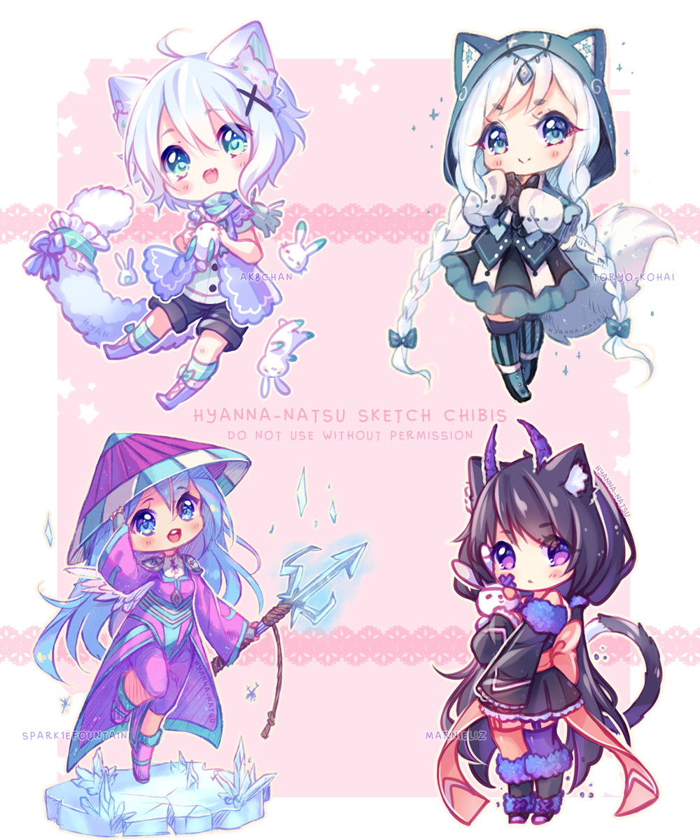 Anime Characters Born On February 9 : Chibi by hyanna natsu on deviantart