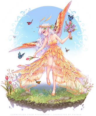 [+Video] Commission - Butterfly Bouquet