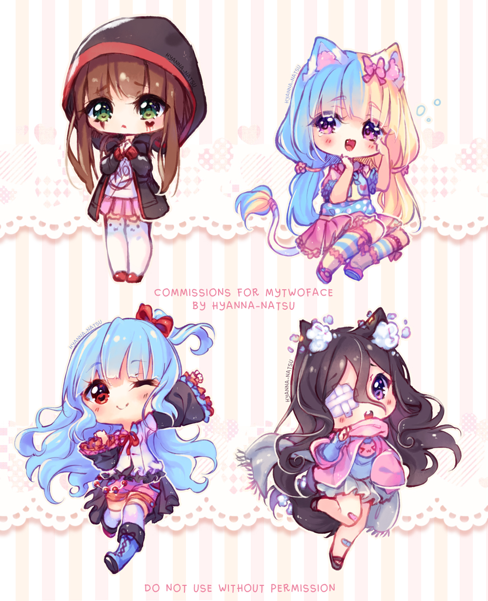 Videos Commission Chibi Feelings By Hyanna Natsu On