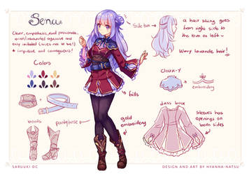Commission - Sena New Clothes by Hyanna-Natsu