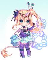 [+Video] Commission - Purple Magic by Hyanna-Natsu