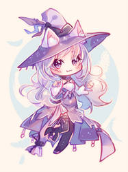 [+Video] Commission - Feather Witch by Hyanna-Natsu