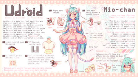 [+Video] Commission - Udroid Species Personal AI by Hyanna-Natsu