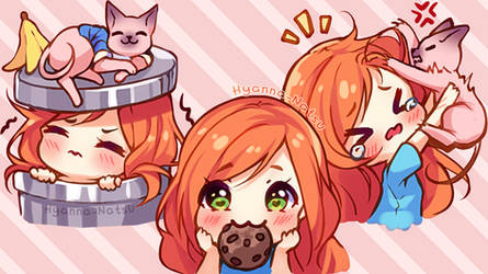 [+Video] Commission - Alice Biscuit Emotes