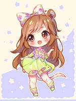[+Video] Commission - Spring dance by Hyanna-Natsu