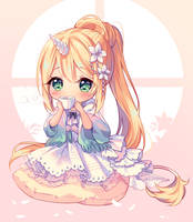 [+Video] Commission - Flower Tea Time by Hyanna-Natsu