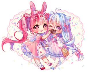 [+Video] Commission - Sweet Exchange by Hyanna-Natsu