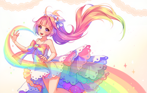 [+Video] Commission - Rainbow Spirit by Hyanna-Natsu