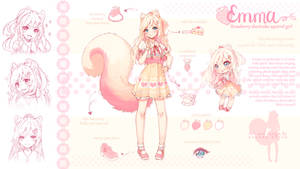 [+Video] Commission - Emma Reference Sheet