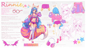 [+Video] Commission - Rinnie Reference Sheet