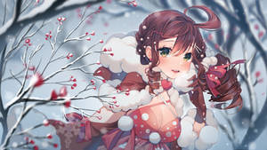[+Video] Commission -  Warm winter forest