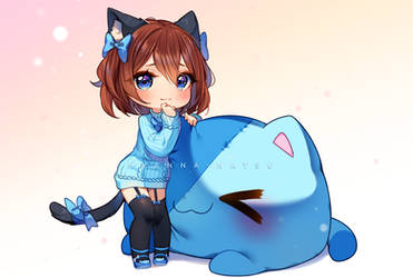 [+Video] Commission - Fluffy snuggle kittens