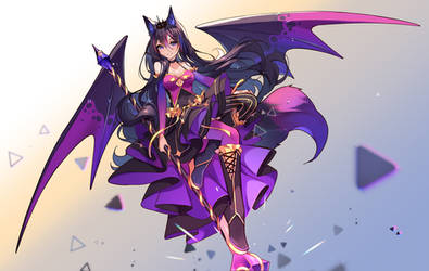 [+Video] Commission - Dark Magic